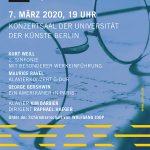 SOS Benefizkonzert Flyer